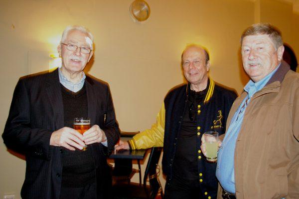 Brian Thomas, Norbert Graetzer and Ed Treadwell: 1975 St Mary's A Grade Premiership Reunion July 15 2011