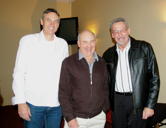 Michael Allen, John Robertson and Kerry Mory: 1975 St Mary's A Grade Premiership Reunion July 15 2011