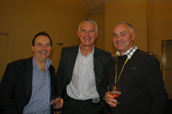 Rob Berger, Trevor Parks and Geoff Goldsworthy: 1975 St Mary's A Grade Premiership Reunion July 15 2011