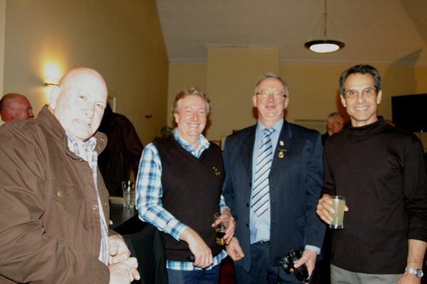 Neil Le Lievre, Peter Leman, Ian Jackson and Adrian Anderson : 1975 St Mary's A Grade Premiership Reunion July 15 2011