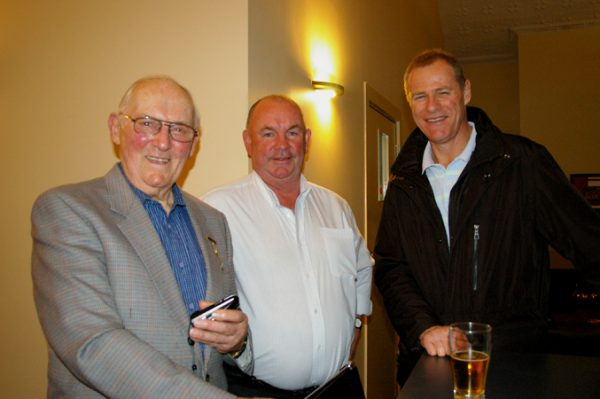 Albert Vickery, Colin Bellinger and Alan Martello: 1975 St Mary's A Grade Premiership Reunion July 15 2011
