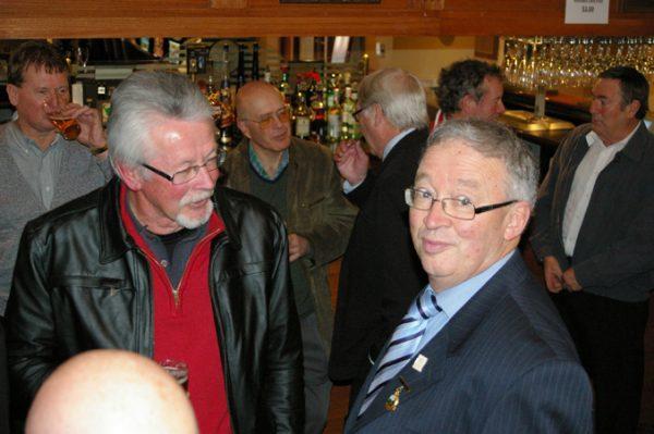 Phil Tyler and Ian Jackson: 1975 St Mary's A Grade Premiership Reunion July 15 2011