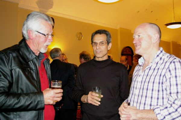 Phil Tyler, Adrian Anderson and Chris Brown: 1975 St Mary's A Grade Premiership Reunion July 15 2011