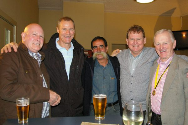 Neil Le Lievre, Alan Martello, Colin Paizes, Rob McKenna and Doug Philipson: 1975 St Mary's A Grade Premiership Reunion July 15 2011