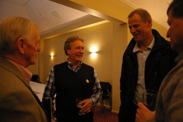Doug Philipson, Peter Leman and Alan Martello: 1975 St Mary's A Grade Premiership Reunion July 15 2011