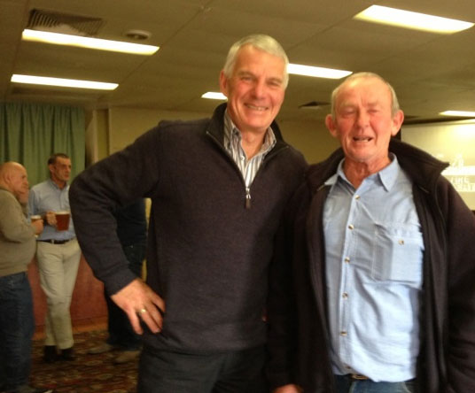 Trevor Parks and Colin Tippett: 1978-79-80 St Mary's Premiership Reunion August 8 2014