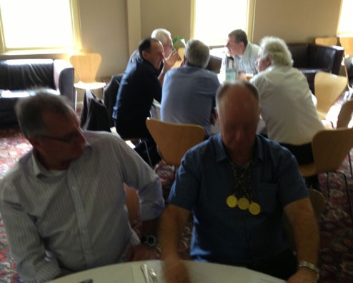 David Malcolm and Brian Perry: 1978-79-80 St Mary's Premiership Reunion August 8 2014