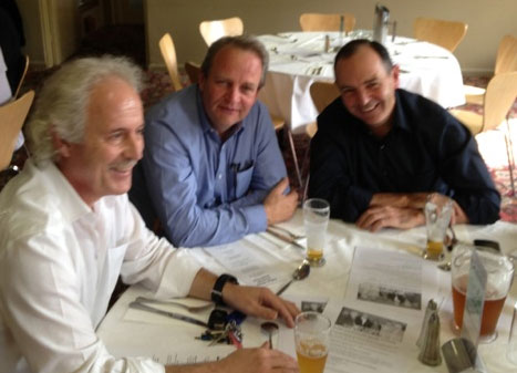 George Grigoriou, Richard Salter and Rob Berger: 1978-79-80 St Mary's Premiership Reunion August 8 2014