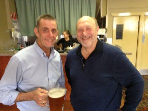 Wayne McDonnell and Mark Plumridge: 1978-79-80 St Mary's Premiership Reunion August 8 2014