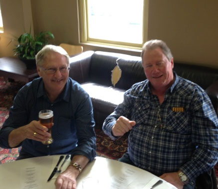 Geoff Goldsworthy and Fred Martello: 1978-79-80 St Mary's Premiership Reunion August 8 2014
