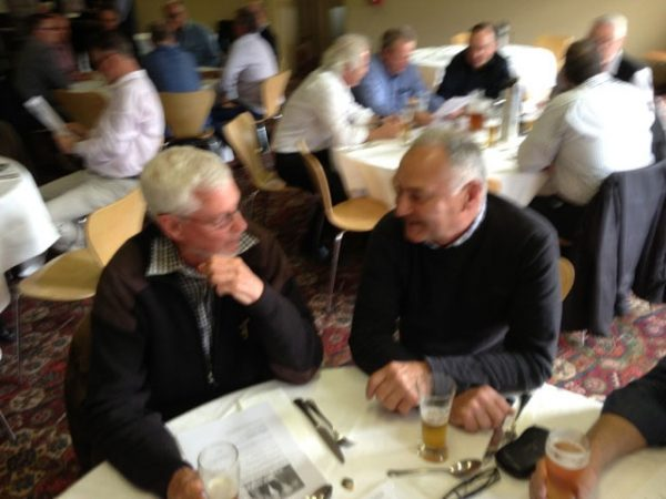 Geoff Goullet and Geoff Goldsworthy: 1978-79-80 St Mary's Premiership Reunion August 8 2014