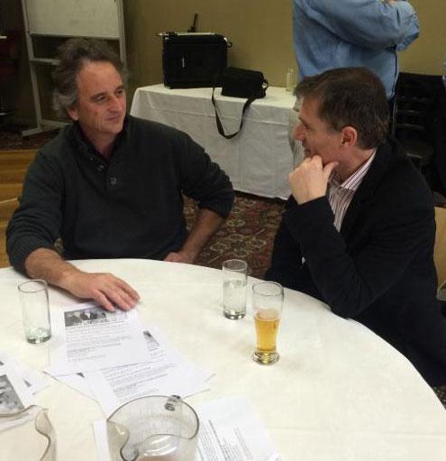 Darren Wharton and Jean-Marc Salama: 1978-79-80 St Mary's Premiership Reunion August 8 2014