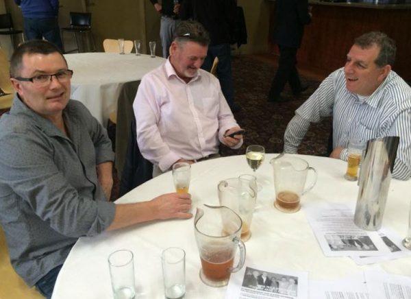 Joffa Walker, Ross Ferguson and Jim Bacolas: 1978-79-80 St Mary's Premiership Reunion August 8 2014
