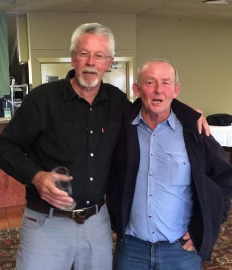 Phil Tyler and Colin Tippett: 1978-79-80 St Mary's Premiership Reunion August 8 2014