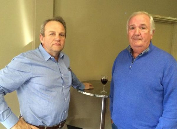 Richard Salter and Alan Brown: 1978-79-80 St Mary's Premiership Reunion August 8 2014