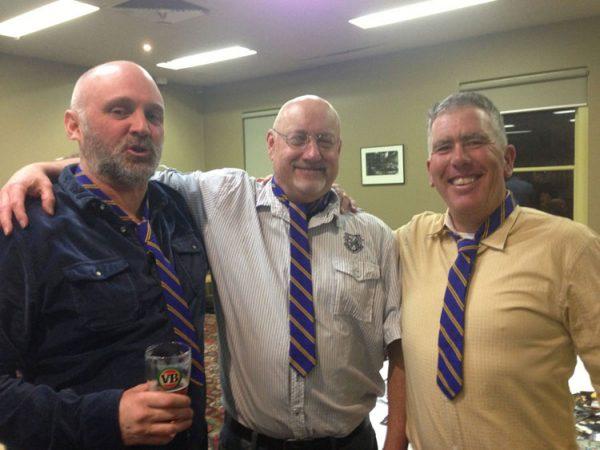 Ferndalians: Mark Tully, Rick Burns and Phil Ashfield: St Marys 1990 Premiership Reunion 17 July 2015