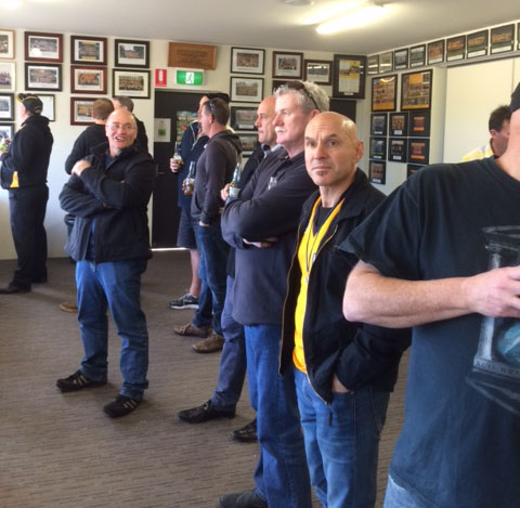 At Ferndale Park: St Marys 1990 Premiership Reunion 17 July 2015