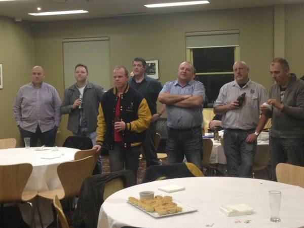 Dean Lupton, Jeremy Sinnico, Trevor Jones, Andy Huntington, Terry Burt, Rick Burns, Rod Runco: St Marys 1990 Premiership Reunion 17 July 2015