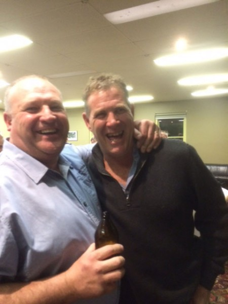 Terry Burt and Grant Sloan: St Marys 1990 Premiership Reunion 17 July 2015