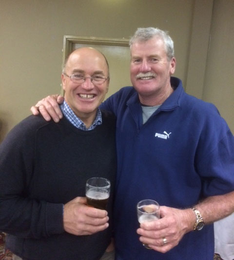 Tony Heubner, Frank O'Rourke: St Marys 1990 Premiership Reunion 17 July 2015