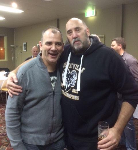 Rod Runco, Rhys Livingstone: St Marys 1990 Premiership Reunion 17 July 2015