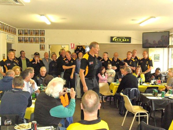 A day for the Life Members: Gold Saints Lunch April 18 2015