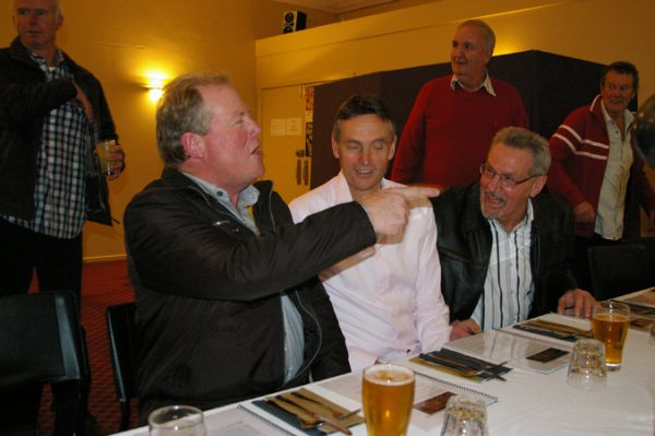 Fred Martello, Michael Allen and Kerry Mory: 1975 St Mary's A Grade Premiership Reunion July 15 2011