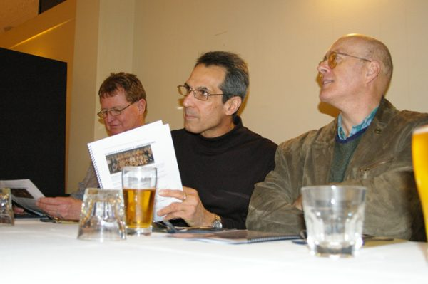 Rob McKenna, Adrian Anderson and Russell Jones: 1975 St Mary's A Grade Premiership Reunion July 15 2011