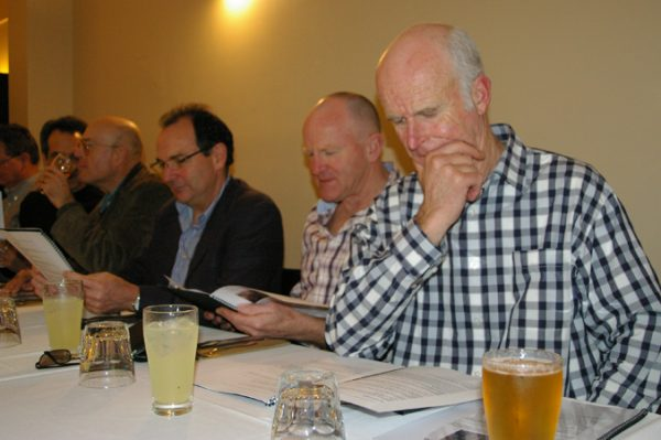Adrian Anderson, Russell Jones, Rob Berger, Chris Brown and Brian Brown: 1975 St Mary's A Grade Premiership Reunion July 15 2011