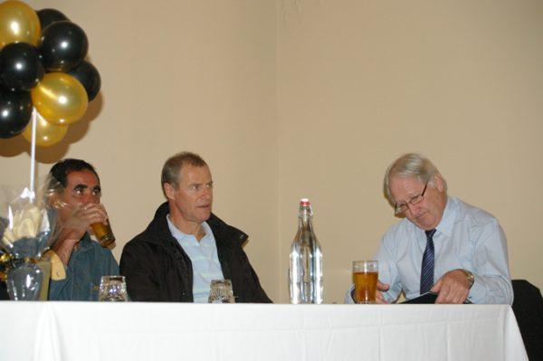 Colin Paizes, Alan Martello and Tony Goldsworthy: 1975 St Mary's A Grade Premiership Reunion July 15 2011