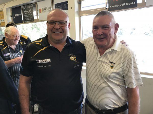 Life Membership 2017: Trevor Jones and Terry Burt