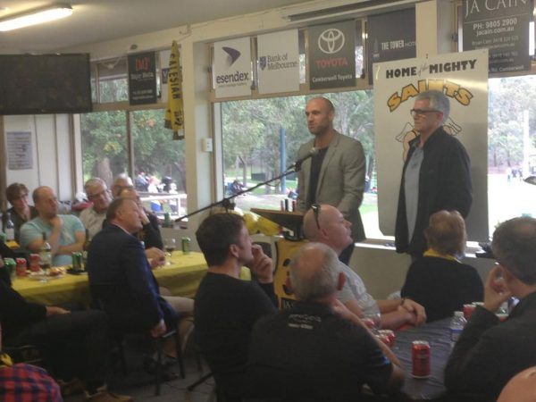 1st Gold Saints Lunch with Chris Judd