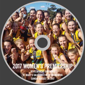 Women's 2017 Premiership DVD
