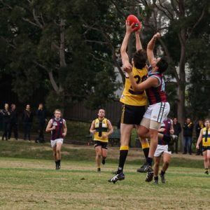 Rd 11 2018 Reserves v PEGS