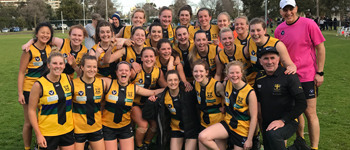 Rd 14 2018 Women's Seniors v West Brunswick