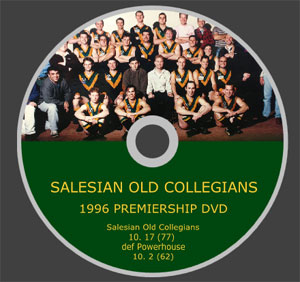 Salesian 1996 Premiership DVD