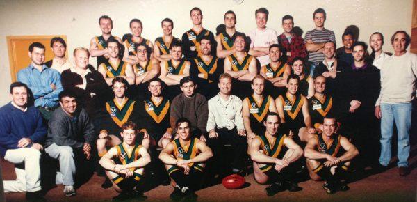 1996 Salesian Premiership Team