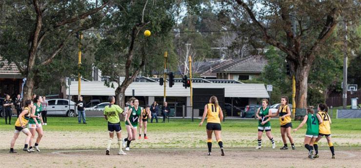 St Marys Salesian Womens Football Team